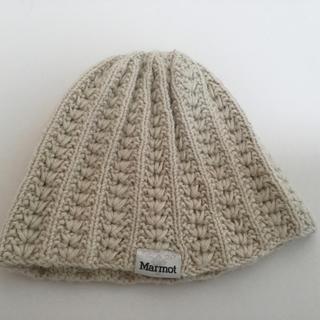 MARMOT - marmot ニット帽 50%ウール