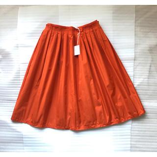 マッキントッシュフィロソフィー(MACKINTOSH PHILOSOPHY)のマッキントッシュフィロソフィー スカート オレンジ(ひざ丈スカート)