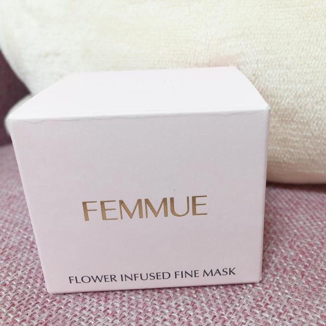 Cosme Kitchen(コスメキッチン)のフラワーインフューズド ファインマスク  コスメ/美容のスキンケア/基礎化粧品(化粧水/ローション)の商品写真