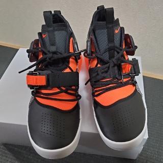 アディダス(adidas)の【美品!】NIKE スニーカー25.5cm AIR FORCE 270 ブラック(スニーカー)