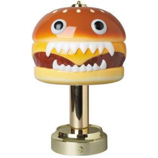 メディコムトイ(MEDICOM TOY)の送料無料 UNDERCOVER HUMBURGER LAMP(その他)