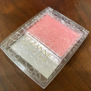 CEZANNE(セザンヌ化粧品) - P1 セザンヌ パール グロウ チーク ゴールドピーチ ピンク
