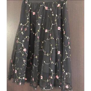 EMSEXCITE - チュールスカート 花柄スカート