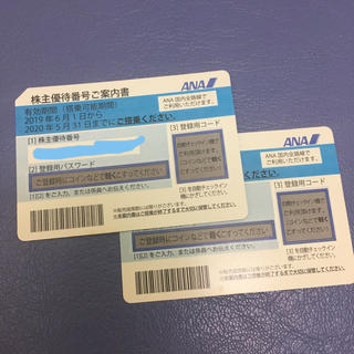 ANA(全日本空輸) - ANA株主優待 2枚組 2020年5月31日まで