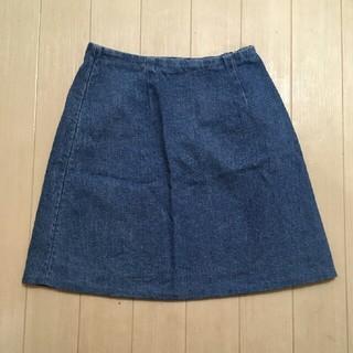 エモダ(EMODA)のEMODA*デニムスカート*ブルー(ミニスカート)