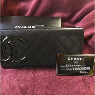 CHANEL - CHANEL カンボンライン 長財布