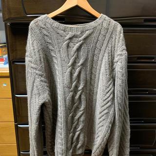 古着 ケーブル柄セーター(ニット/セーター)