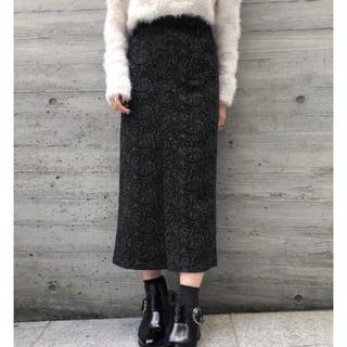 PAGEBOY - 【美品】PAGEBOY ペイズリーチェックナロースカート