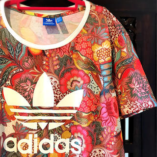 adidas - アディダス ジャージ 花柄 オリジナルス リタオラ コラボ Tシャツ ML