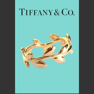 ティファニー(Tiffany & Co.)のTiffany&Co.❤️ティファニー  オリーブリーフ バンドリング(リング(指輪))