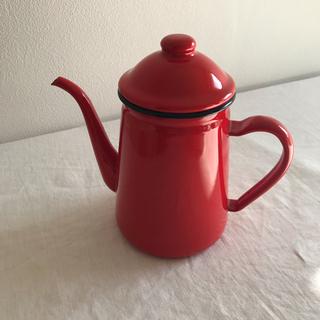 カリタ(CARITA)のカリタ琺瑯コーヒードリップポット(コーヒーメーカー)