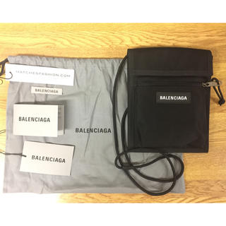 Balenciaga - 新品未使用 バレンシアガ サコッシュ ショルダー エクスプローラー ポーチ 黒