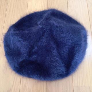 ROYAL PARTY - 【未使用】ROYAL PARTY 紺色ファーベレー帽