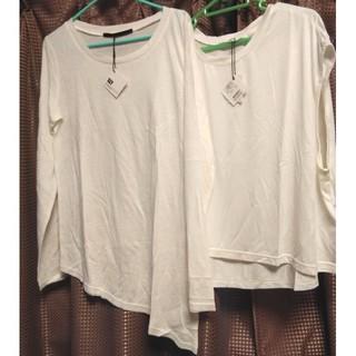 スライ(SLY)のSLY☆スライ~無地 半袖&長袖T シャツ2枚セット☆新品(Tシャツ(長袖/七分))