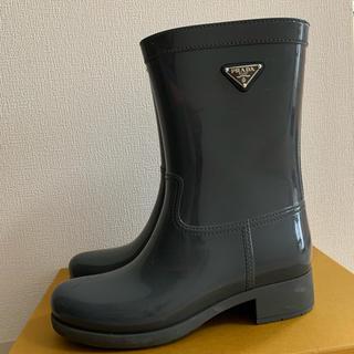 プラダ(PRADA)のささ様専用  PRADA レインブーツ ラバー ブーツ (レインブーツ/長靴)