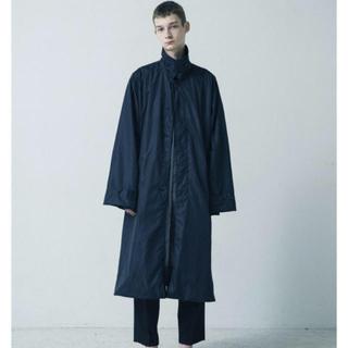 SUNSEA - stein 18aw wind coat navy Mサイズ