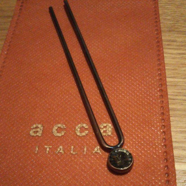 acca(アッカ)のacca✨かんざし グレーワンストーン アンティークゴールド レディースのヘアアクセサリー(その他)の商品写真