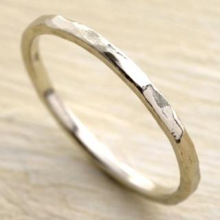 アガット(agete)の美品 agete YG ピンキーリング K10(リング(指輪))