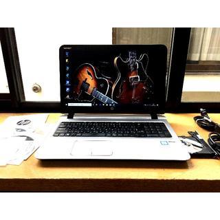 ヒューレットパッカード(HP)のHP 450 G3 256GB/SSD 4G i5 6200U(ノートPC)