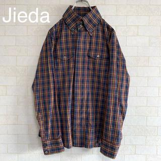 ジエダ(Jieda)のJieda ジエダ チェック シャツ Mサイズ(シャツ)