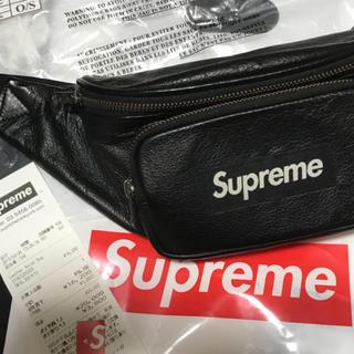 Supreme - supreme leather waistbag