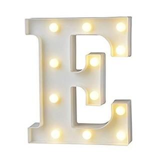 アルファベットマーキーライト E(その他)