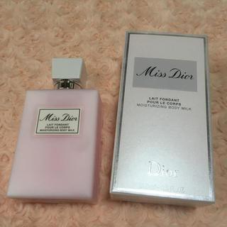 クリスチャンディオール(Christian Dior)のミスディオール ボディミルク 200ml(ボディローション/ミルク)