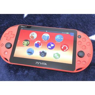 PlayStation Vita - ★期間限定値下げ中!PSVITA本体 + ソフト&ケース付き