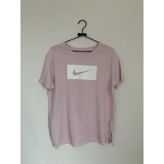 NIKE - NIKE pink パステル Tシャツ L
