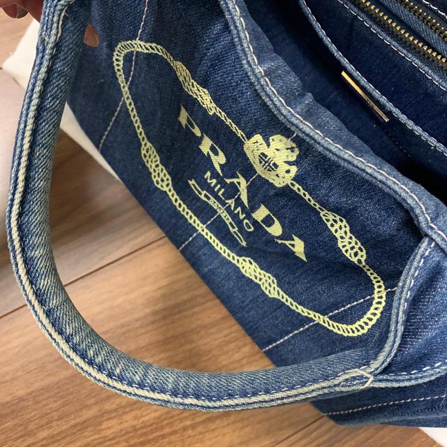 PRADA(プラダ)のPRADA カナパ デニム レディースのバッグ(トートバッグ)の商品写真