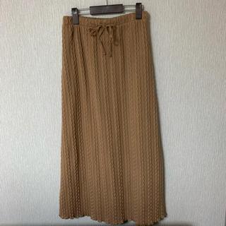 ダブルクローゼット(w closet)の【w closet】ロング ニットスカート(ロングスカート)
