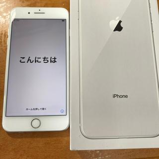 Apple - 【美品!】iPhone8plus 64G SiMフリー シルバー