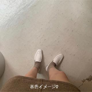 スタイルナンダ(STYLENANDA)の靴 ローファー 茶色 22.5 (ローファー/革靴)