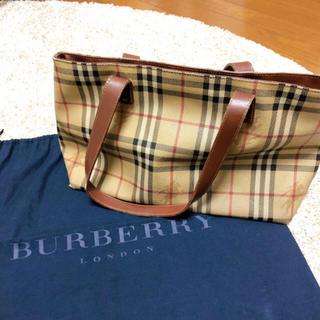 BURBERRY - バーバリー トートバッグ  布袋付き