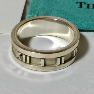 ティファニー(Tiffany & Co.)のTiffany& Co. アトラス シルバーリング(リング(指輪))