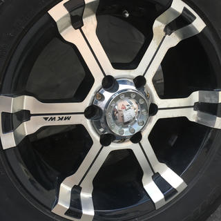 BRIDGESTONE - スタッドレスタイヤ ホイールセット 265/65/17  MKWホイール