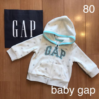 babyGAP - 新品★baby gapロゴパーカー80
