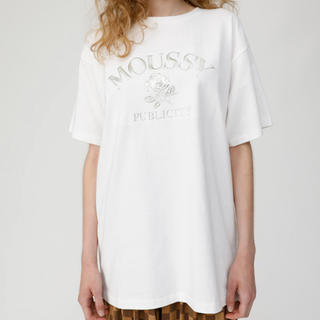 moussy - moussy ロゴTシャツ