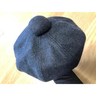 エイチアンドエム(H&M)の【美品】H&M ベレー帽子(ハンチング/ベレー帽)
