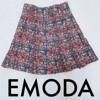 エモダ(EMODA)のEMODA ツイード柄スカート(ミニスカート)
