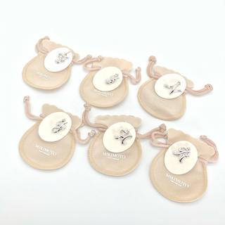 MIKIMOTO - 新品 ミキモト パール ネックレス イニシャル チャーム 正規品