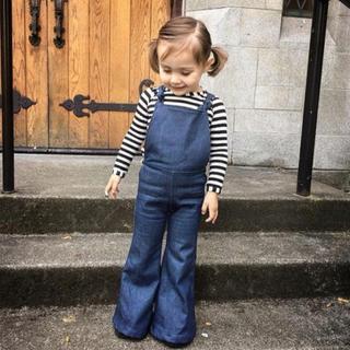 キャラメルベビー&チャイルド(Caramel baby&child )のHARLOW JADE デニムオーバーオール 3T(パンツ/スパッツ)