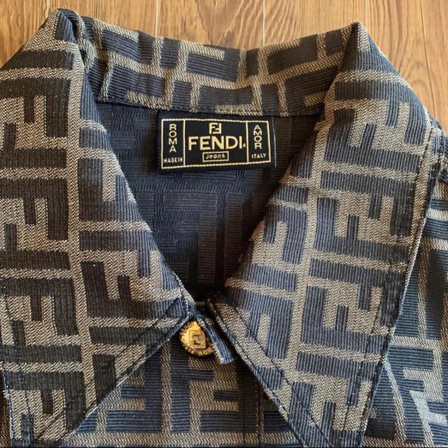 FENDI(フェンディ)の◇FENDI◇ 90s 極美品 イタリア製 ビンテージ ズッカ柄 レディースのトップス(ベスト/ジレ)の商品写真