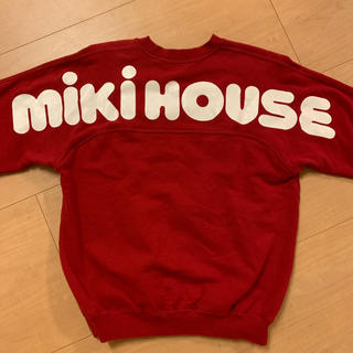 ミキハウス(mikihouse)の◇miki hiouse◇ 90s 激レア アーチロゴ ビッグロゴ ビンテージ(スウェット)