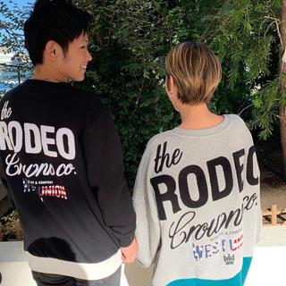 ロデオクラウンズ(RODEO CROWNS)のレア♡阿倍野限定 メンズスウェット&スウェットワンピ(スウェット)