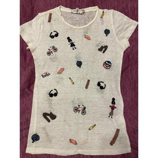 アリスアンドオリビア(Alice+Olivia)のalice+olivia Tシャツ 白T(Tシャツ(半袖/袖なし))