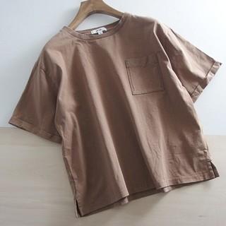 niko and... - ●niko and...● ニコアンド ゆったり 胸ポケット付きTシャツ L ♪