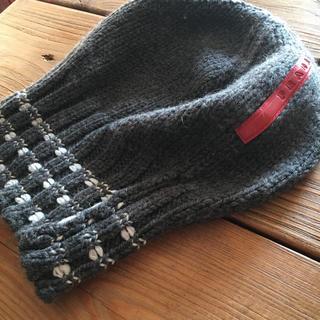 プラダ(PRADA)のプラダスポーツ ニット帽(ニット帽/ビーニー)