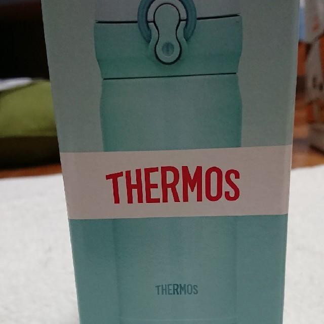 THERMOS(サーモス)の新品 THERMOS サーモス 0.35L    スカイブルー キッズ/ベビー/マタニティの授乳/お食事用品(水筒)の商品写真