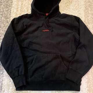Supreme - Supreme Trademark Hooded Sweatshirt黒L